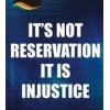 Stop reservation/quota system in India